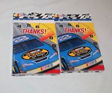 Nascar Nextel Thank You Invitation Cards Boy Girl Birthday Party Favor Supply2p