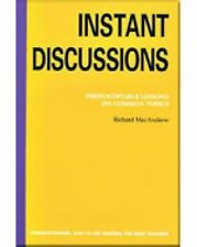Instant Discussion: Photocopiable Lessons on Common Topics, Martinez, Ron, MacAn