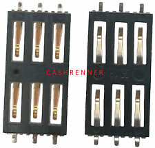 SIM Connector tarjetas lectores soporte Card Reader Connector slot Apple iPhone 3g 3gs