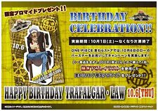 Mugiwara Store One Piece Birthday Celebration!! Bromide Card Trafalgar Law