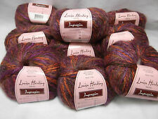 Impressions Yarn by Louisa Harding Color 18 Purple lot 7617 Ribbon Worsted
