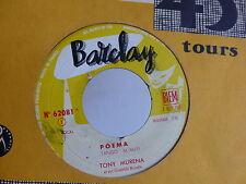 TONY MURENA Poema / Adios muchachos 62091 JUKE BOX