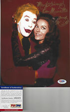 CatWoman Lee Meriwether autographed 8x10  photo with Joker bonus photo PSA DNA