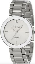 Anne Klein Watch * 1363SVSV Diamond Silver Steel Women Ivanandsophia COD PayPal