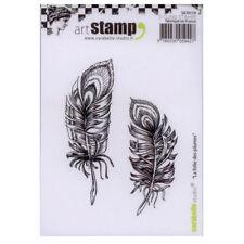 Carabelle Studio SA70119 A7 Cling Stamp - La folie des plumes (Feathers)
