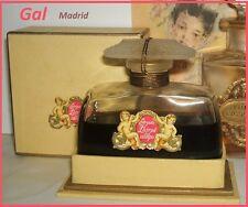 """Flacon parfum ancien Gal """"Flores del Campo"""" parfum d'origine scellé PARFAIT 7cm"""