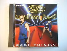 2 UNLIMITED : THE REAL THINGS [ CD ALBUM PORT GRATUIT ]