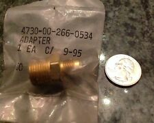 Brass military adapter reducer aircraft F-15 F-16 and others ms39158-21 npt