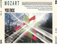 Mozart: the Complete masonic Music-les francs-maçons musique/2 CD-set