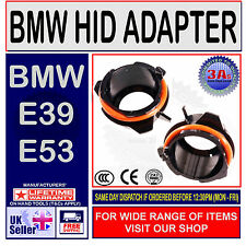 2 x  BMW E39 X5 SERIES H7 HID KIT BULB HOLDERS ADAPTERS
