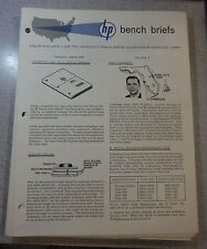 HP Bench Briefs Vol 2 No 6 February-March 1962