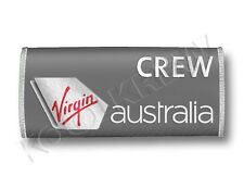 Virgin Australia Handle Wraps CREW LUGGAGE TAGS X 2