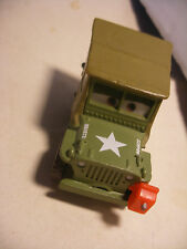 Mattel Disney Pixar Voiture CARS 2 Die Cast Metal 1/55 Sergent SARGE Jeep