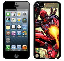 Deadpool case fits ipod touch 5 & 6 6th 5th gen cover protective (3) apple
