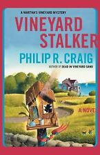 Vineyard Stalker by Philip R. Craig (2010, Paperback)