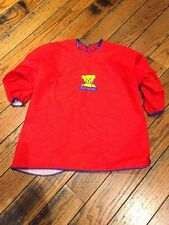 Baby Bjorn Eat and Play Smock Bib Cover Up - Red - Excellent condition