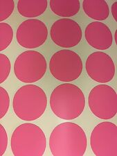 "50ct 2"" Peel And Stick Polka Dot Circle Wall Decal Sticker ANY COLOR"