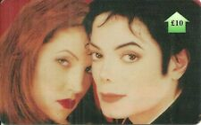 RARE / CARTE TELEPHONIQUE - MICHAEL JACKSON & LISA PRESLEY PHONECARD LIMITED 500