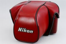 【Excellent+++】 Nikon CF-22 Semi Soft Leather Case for F3 F3HP from Japan #207