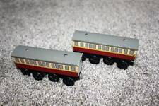 Thomas the Train & Friends Wooden Railway Express Coach Set Gray Wood RARE Toys