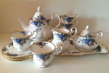 Royal Albert Moonlight Rose Tea Set MINT