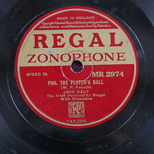 78rpm PHIL THE FLUTERS BALL / an irish lullaby ,  jack daly
