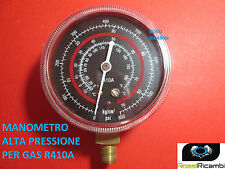 MANOMETRO ALTA PRESSIONE PER GAS REFRIGERANTE GAS R410A FREON 70 mm