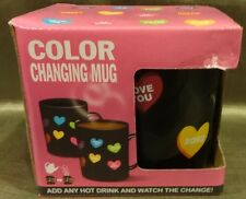 Valentines Color Changing Heat Sensitive Porcelain Coffee or Tea Cup
