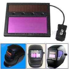 New Solar Auto Darken Welding Helmet Lens Goggles Automation UV IR Filter Shade