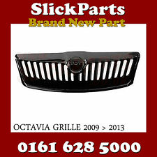 SKODA OCTAVIA GRILLE COMPLETE WITH CHROME 2009 2010 2011 2012 2013 *NEW*