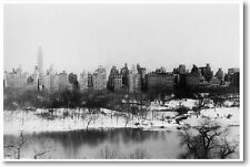 Central Park New York City Circa 1910 - NYC Vintage Print - NEW POSTER