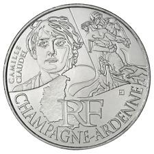 10 euros des régions personnages en argent Champagne Ardenne  2012