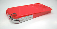 GRAFT CONCEPTS Leverage iPhone 4/4S Case Bumper RED w/ CHROME Latch BRAND NEW
