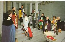 Cornwall Postcard - The Knighting Ceremony at King Arthur's Hall Tintagel MB149