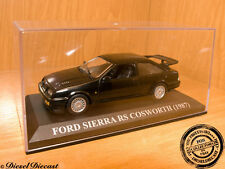 FORD SIERRA RS COSWORTH BLACK 1987 1:43 WITH BOX!! MINT