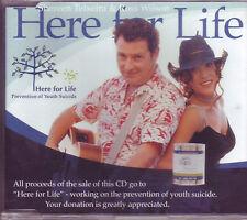 RARE Ross Wilson Here For Life Australian CD single (2004)