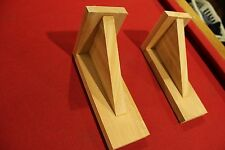 2 CEDAR WOOD CORBELS BRACKETS WINDOW FLOWER BOX  PLANTER HOUSE DECK PATIO LOT