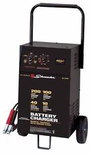 350-Amps cranking power Wheeled Battery Charger Farm Jump Garage Shop Car Truck