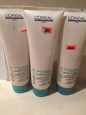 L'OREAL TERRE D'ARGILE PURIFIANTE  TREATMENT MASQUE FOR OILY HAIR 3 x 250ML  NEW