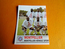 N°524 EQUIPE MONTPELLIER MHSC MOSSON PANINI FOOTBALL FOOT 2007 2006-2007
