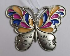 g Friends are flowers in Garden of Life BUTTERFLY WISHES Ornament Ganz