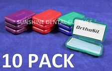 ORTHOSIL for Braces Silicone Irritation relief -  Better than Wax (10 Pk) Dental
