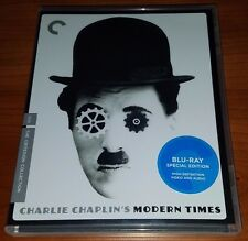 Modern Times (1936) Blu Ray The Criterion Collection #543 Charlie Chaplin
