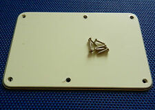 LEFTY: Fender Floyd Rose Stratocaster Strat Parchment TREMOLO BACK COVER Guitar
