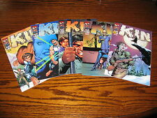 Top Cow - KIN #1,4,5,6(2 covers) Comic Lot!!  Glossy VF+ 2000