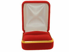 JEWELRY  BOX BEAUTIFUL  VELVET FOR CHARM, RINGS,EARRINGS ..... ON SALE THIS WEEK
