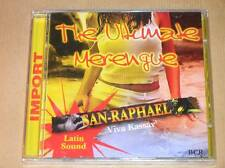 CD RARE / THE ULTIMATE MERENGUE / SAN RAPHAEL / VIVA KASSAV / NEUF SOUS CELLO