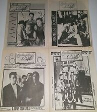 4 Endless Party ZINE MAGAZINE S 89 PUNK VOIVOD RED KROSS Fanzine metal lp 45