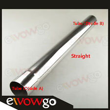 "3"" 76mm Straight Mandrel Bends Stainless Steel Female Flared Male End Pipe"