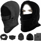 Thermal FLEECE BALACLAVA HOOD POLICE Cap Winter SKI MASK Hat Scarf Neck Warmer